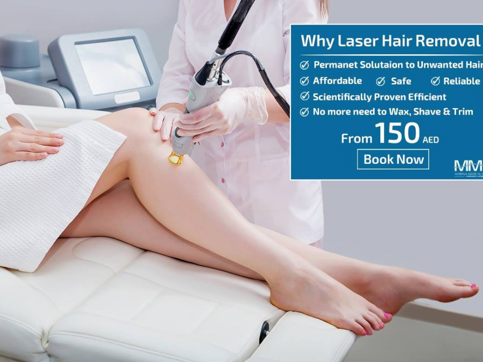 Laser Hair removal Marina Dubai